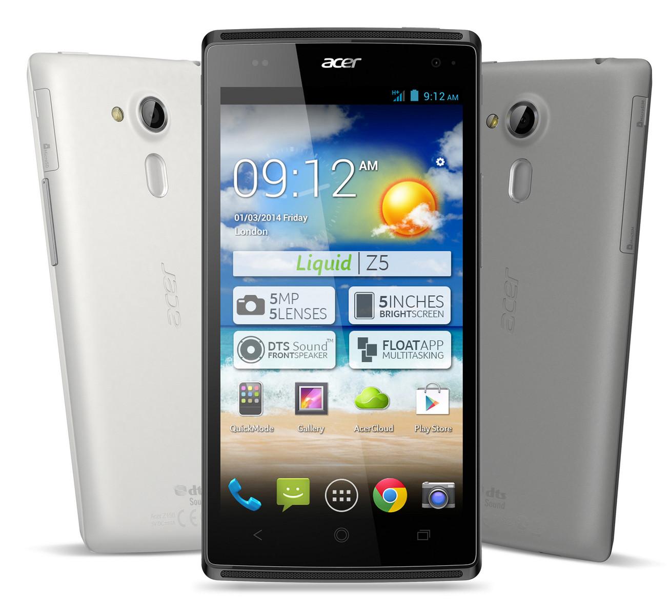 Acer Z5 Liquid